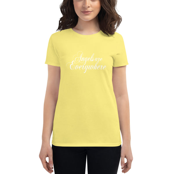 Angels are Everywhere! - Women's short sleeve t-shirt