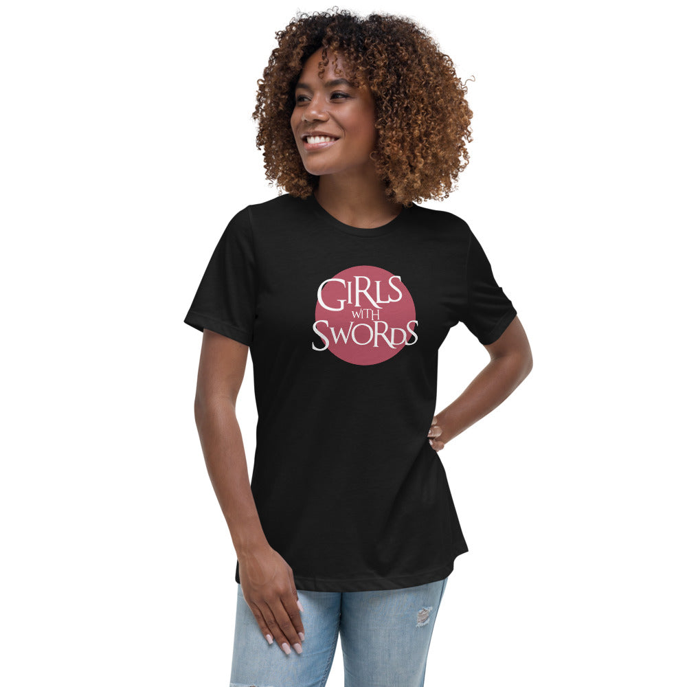 Girls with Swords - Women's Relaxed T-Shirt