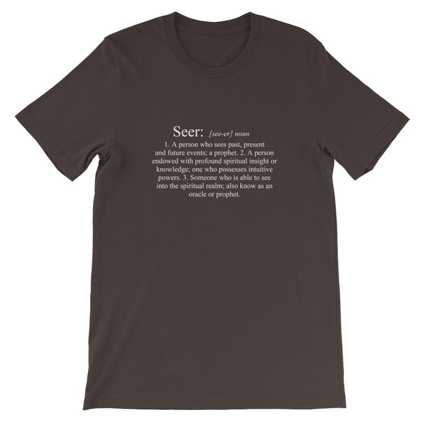 Definition of a Seer - Short-Sleeve Unisex T-Shirt