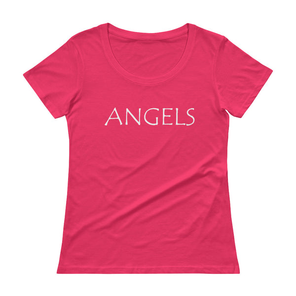 Angels - Ladies' Scoopneck T-Shirt