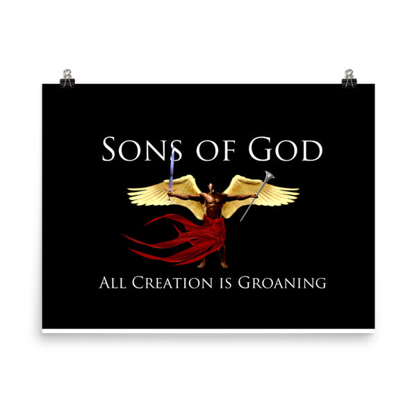 Sons of God - All Creation is Groaning