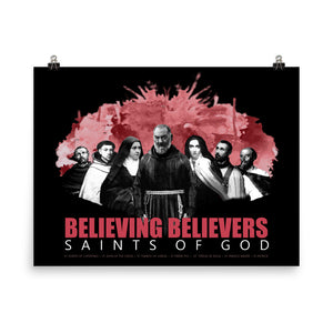 Believing Believers Saints of God - Poster