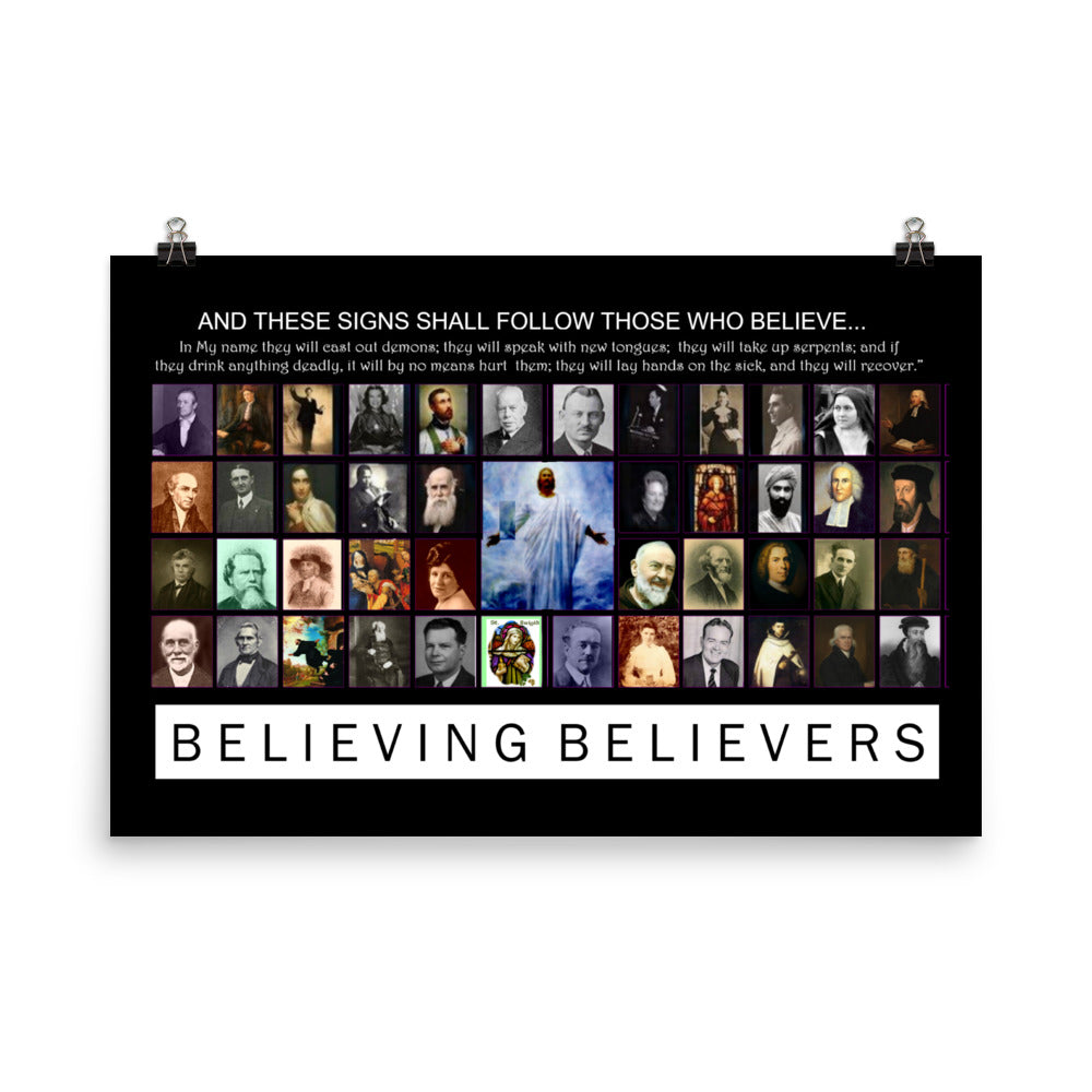 Believing Believers - Poster