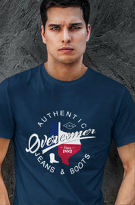 Overcomer Jeans & Boots - Texas -Short-Sleeve Unisex T-Shirt
