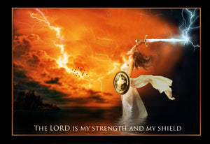The LORD is My Strengh and My Shield - Girls with Swords