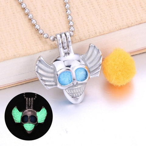 Image of Cute Frog Essential Oil Diffuser Necklace