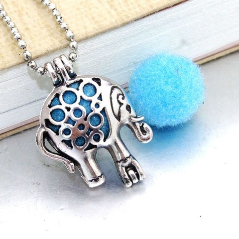 Majestic Horse Essential Oil Diffuser Necklace