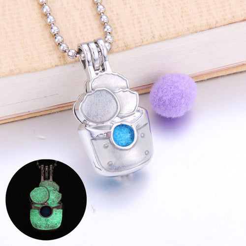 Wise Owl Essential Oil Diffuser Necklace