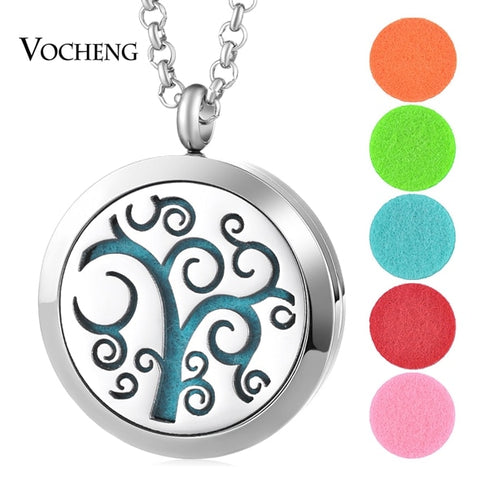 Image of Carve-Out Design Essential Oil Diffuser Necklace