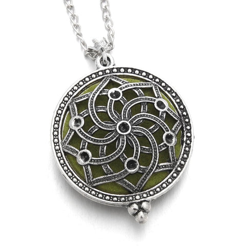 Aromatherapy Pendant Necklace