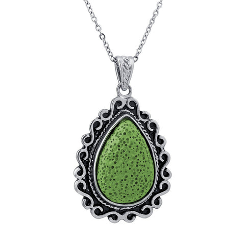 Image of Tear Drop Essential Oil Diffuser Pendant