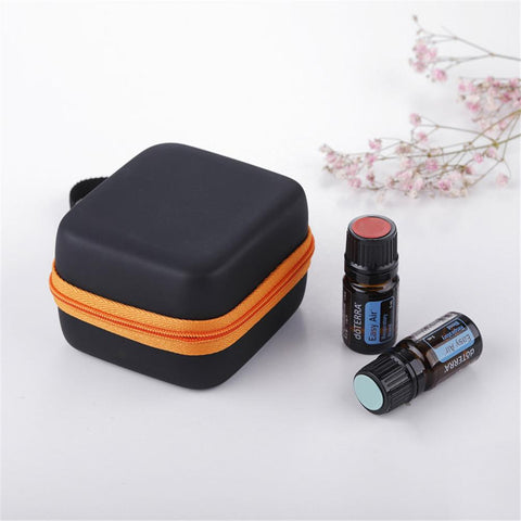 Portable 7 Compartment 5ML Essential Oil Storage Bag