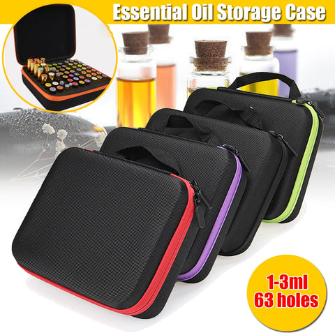 Image of Essential Oil Carrying Case 63 Bottles