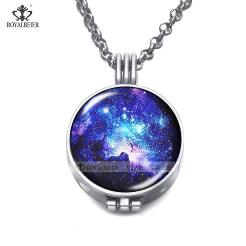 Image of aromatherapy pendant necklace