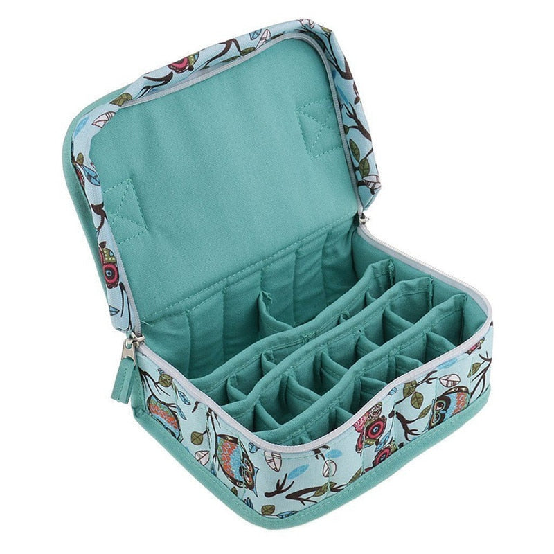 Essential Oil Bottles Storage Bag - 20 Bottles