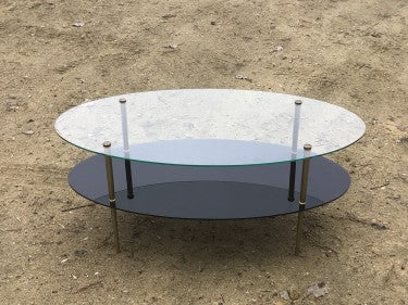 Glass French Coffee Table