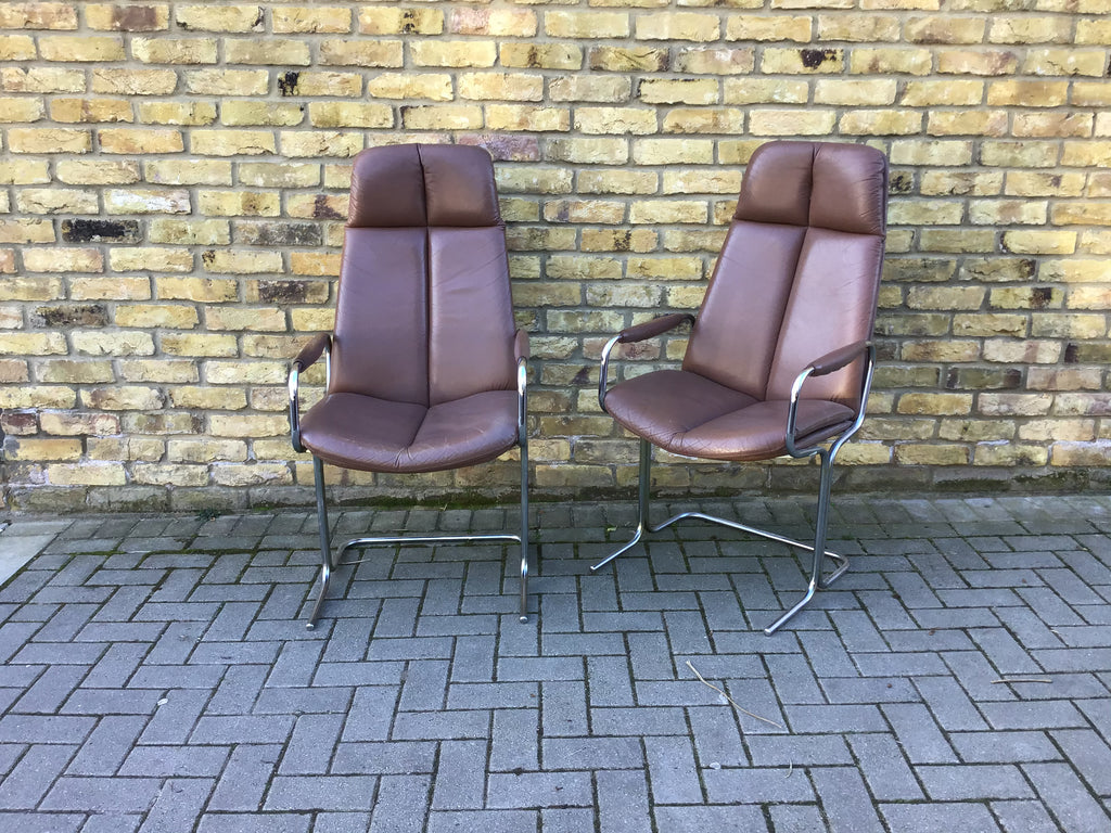 1970's chairs by Pieff