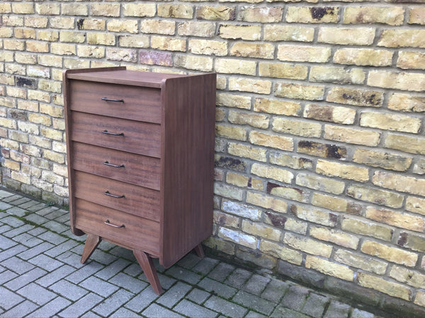1950's French chest of draws