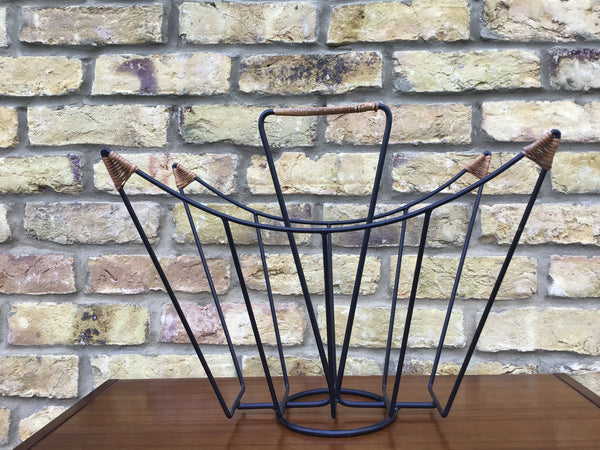 1950's Danish magazine rack