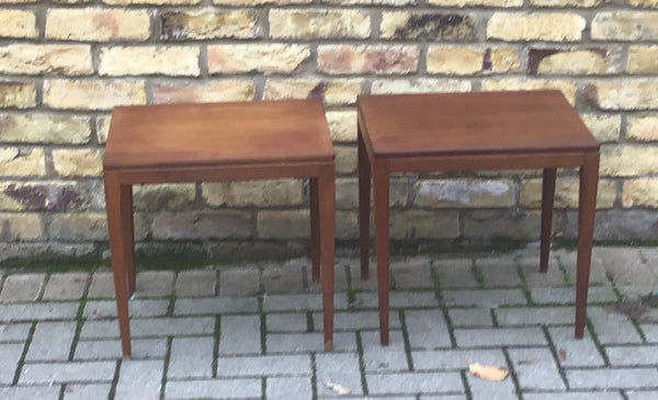 1960's Pair of table  attributed to Guy Russells