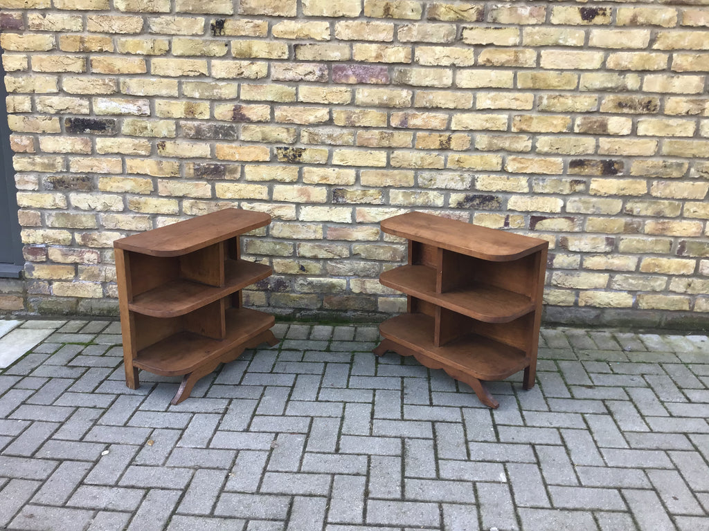 A pair of Deco storage bookcases SOLD
