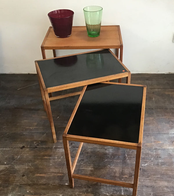 1960's Danish nest of tables