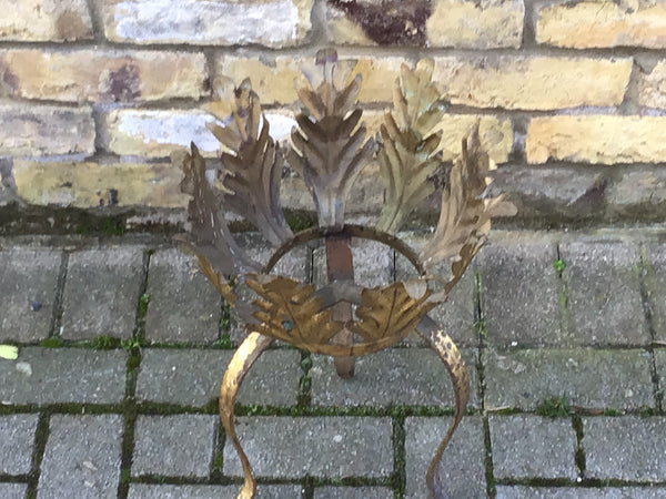 Vintage French metal planter
