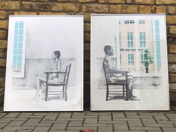 A pair of Limited edition prints by P Wilson
