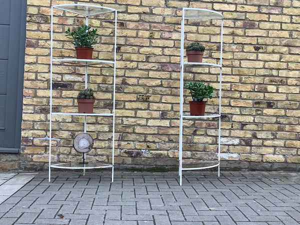 1960's  A pair of plant stands