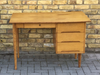 1960's Danish oak desk. SOLD