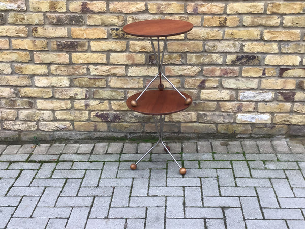 Teak Side Table by Albert Larsson for Alberts Tibro, 1960s