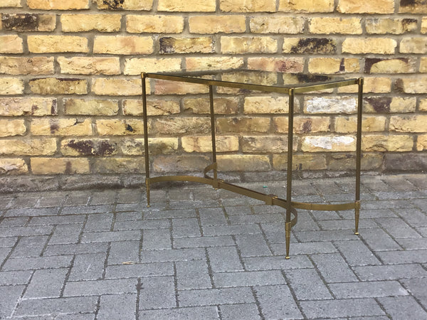Vintage Italian brass side table