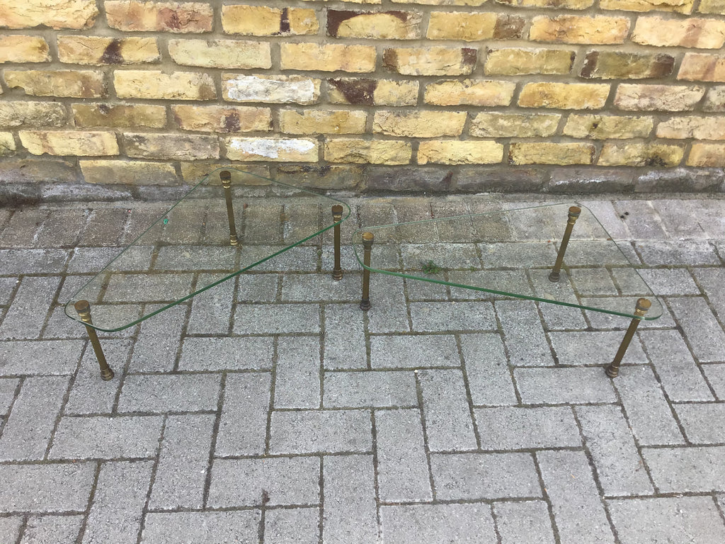 A pair of 1950's French side tables