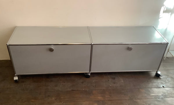 USM Haller TV/Hi-Fi unit/ low storage unit/USM Haller Media B218 Storage.  SOLD