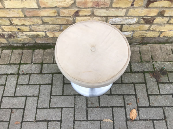 Space age 1970's stool