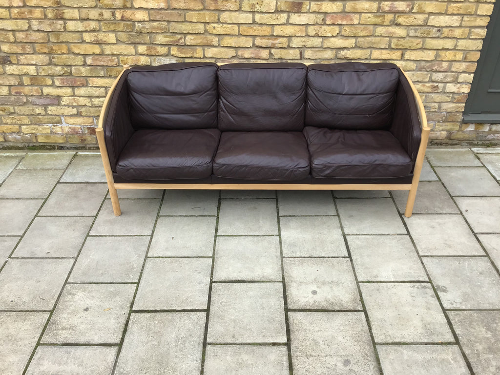 1970's Danish sofa by Steuby.  SOLD