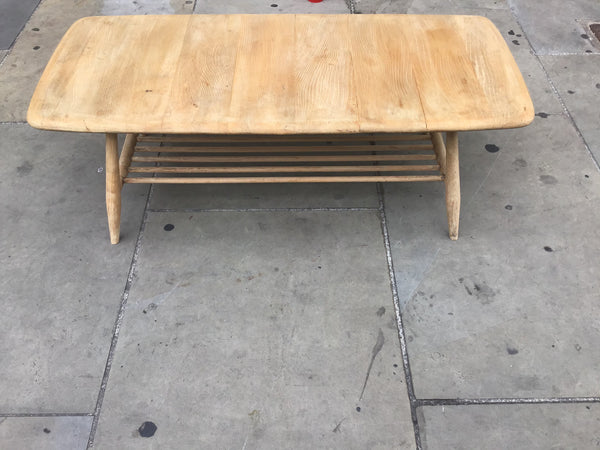 1960's Ercol coffee table