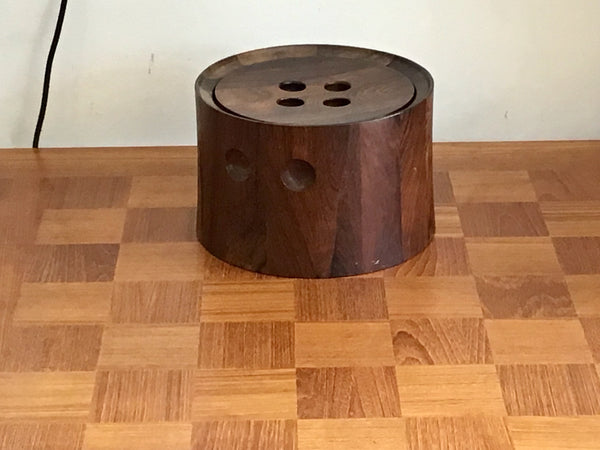 1960's Rosewood ice bucket by Richard Nissen