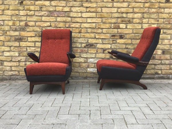 1950's Greaves And Thomas Armchairs