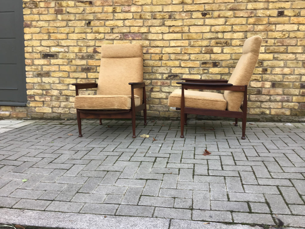 1960's Guy Rogers armchairs