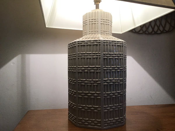 1960's ceramic table lamp by chaama