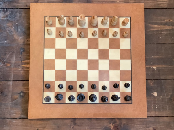Vintage chess set.  SOLD