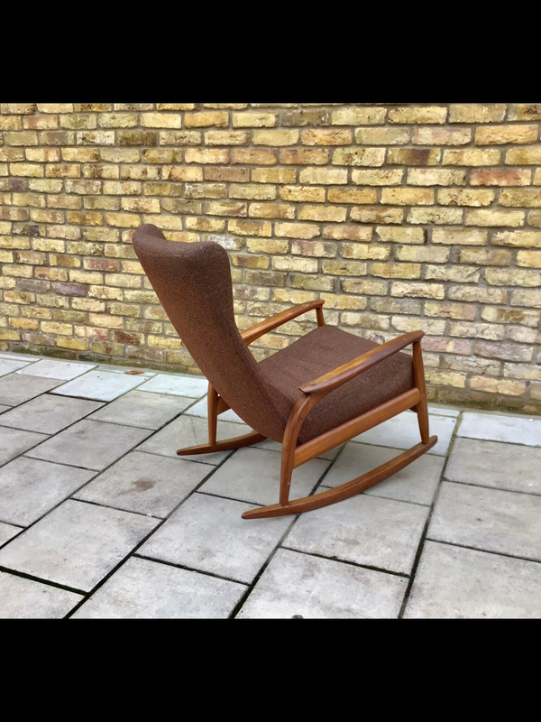Vintage Danish rocking chair SOLD