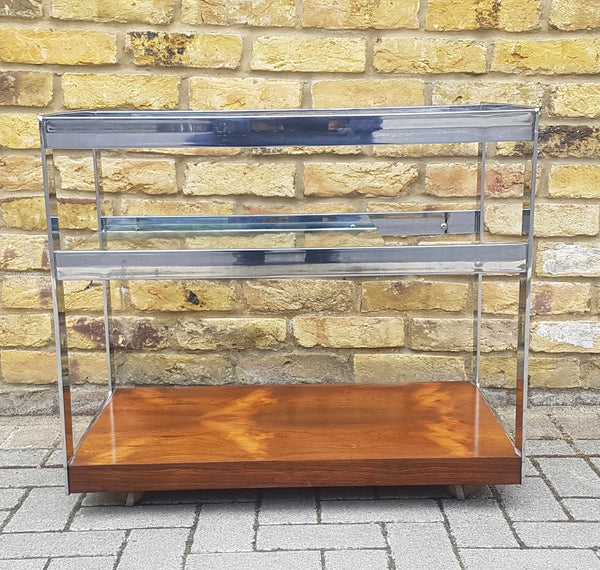 Merrow&associates rosewood drinks trolley