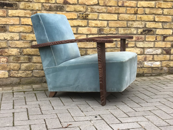 Deco French armchair