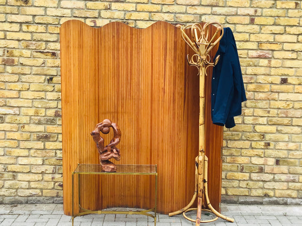 1960's Bamboo coat stand to attributed to Italian designer Franco Albini for Bonacina. Italy, .