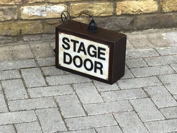 Stage Door light/lamp