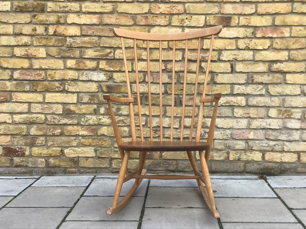 1960's Scandinavian rocking chair
