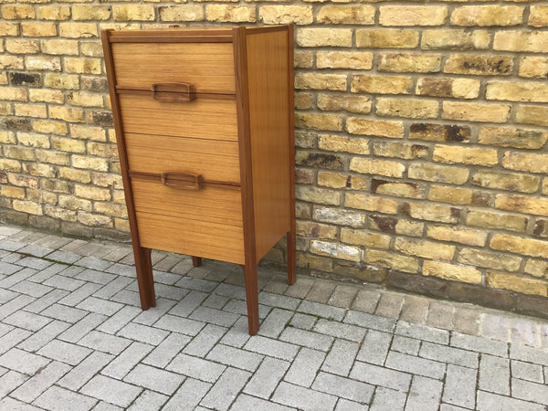 "1960""s tall chest of draws SOLD"