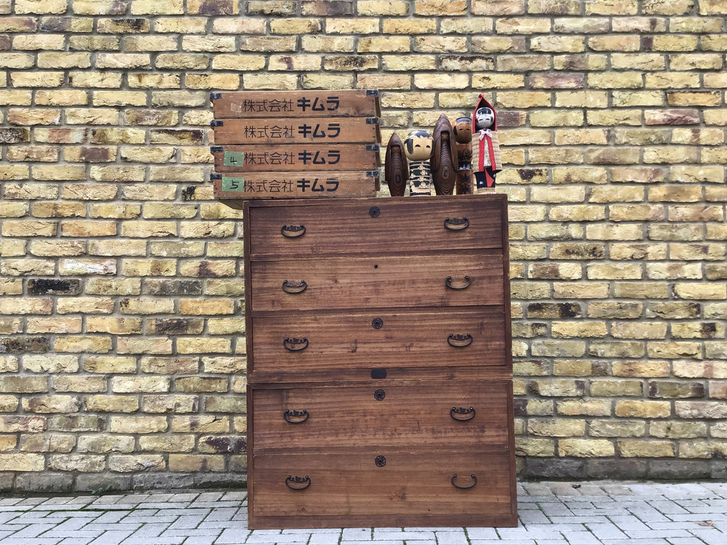 Vintage Japanese Tansu chest of draws